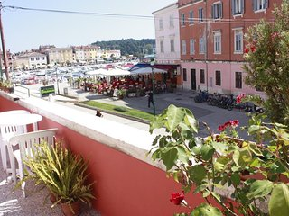 Cozy apartment in the center of Rovinj with Parking, Internet, Washing machine,