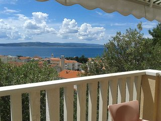 Cozy apartment in the center of Baška Voda with Parking, Internet, Air condition
