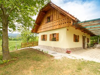 Cozy country house in Bukovje with Parking, Internet, Washing machine, Terrace