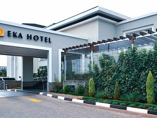 Go into the city and have a great day then return to the grand Eka Hotel