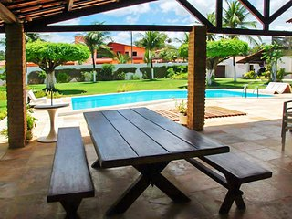 Spacious villa in Caucaia with Parking, Internet, Washing machine, Pool