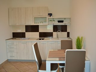 Cozy apartment in the center of Catez ob Savi with Parking, Internet, Air condit