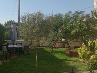 Spacious apartment in the center of Privlaka with Parking, Internet, Air conditi