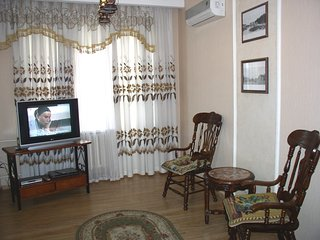 Cozy apartment close to the center of Kiev with Internet, Washing machine, Air c