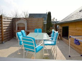 Cozy house in the center of Cancale with Parking, Internet, Washing machine, Gar
