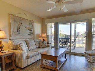 NEW LISTING! Riverfront condo on Perdido Key w/ shared pool & private balcony
