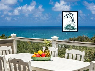 A/C - Deluxe Ocean View Bluff Home full of ALOHA for 10