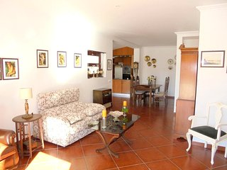 Spacious apartment in A dos Cunhados with Parking, Internet, Washing machine, Ga