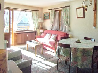 Cozy apartment very close to the centre of Megève with Parking, Balcony, Terrace