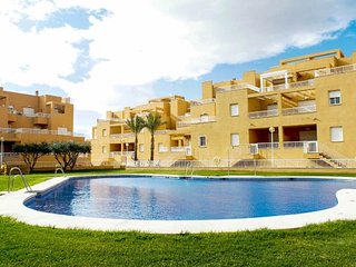 Spacious apartment in Mojácar with Lift, Parking, Washing machine, Air condition