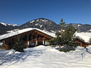 Spacious house close to the center of Praz-sur-Arly with Parking, Internet, Wash