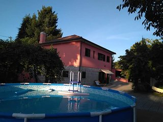 Spacious villa in Cerdal with Parking, Internet, Pool, Garden