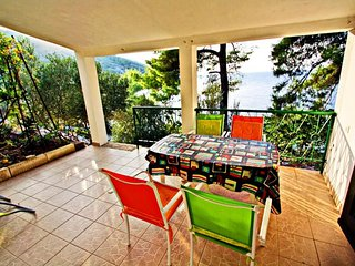 Cozy apartment in Blato with Parking, Internet, Air conditioning, Terrace