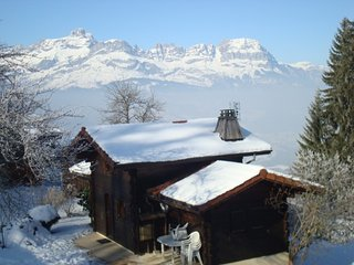 Cozy house in Saint-Gervais-les-Bains with Parking, Internet, Washing machine, T
