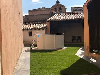 Cozy villa in Monfarracinos with Parking, Internet, Washing machine, Air conditi