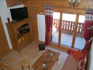 Cozy apartment in the center of Pralognan-la-Vanoise with Parking, Internet, Was