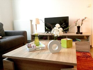 Cozy apartment close to the center of Rouen with Lift, Internet, Washing machine