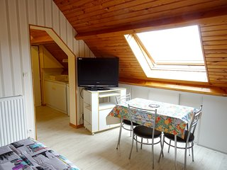 Cosy studio in the center of Berck with Parking, Internet, Terrace