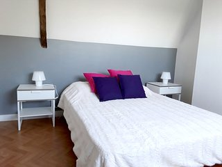 Cozy house in Guimaëc with Parking, Internet, Washing machine, Garden
