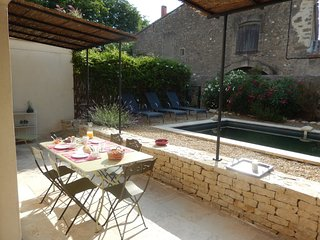 Cozy villa in the center of La Redorte with Parking, Internet, Washing machine,