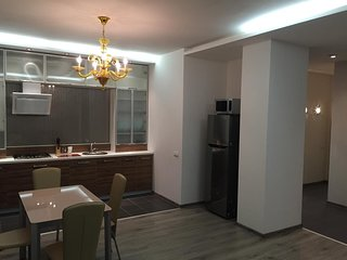 Spacious apartment in the center of Dnepropetrovsk with Parking, Internet, Washi