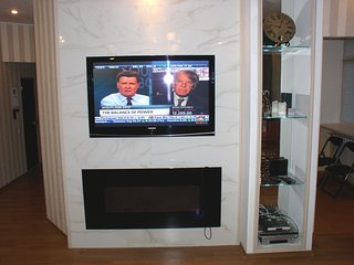 Spacious apartment in the center of Kiev with Internet, Washing machine, Air con