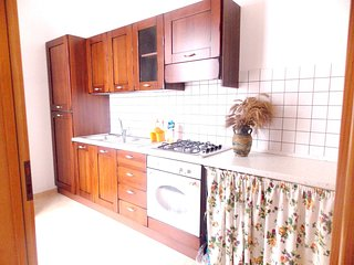 Spacious apartment in Gagliano del Capo with Parking, Internet, Air conditioning