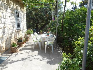 Cozy apartment in the center of Rogač with Balcony, Garden, Terrace