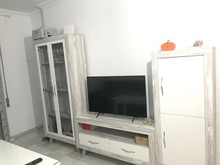 Spacious apartment in the center of Jerez with Internet, Washing machine, Terrac