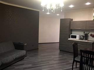 Spacious apartment in the center of Dnepropetrovsk with Lift, Parking, Internet,