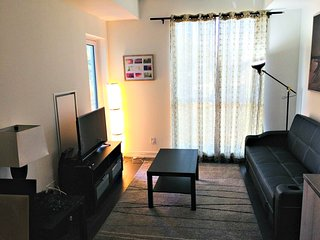 Cozy apartment in Toronto with Internet, Washing machine, Air conditioning, Balc