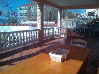 Spacious apartment in the center of Bibinje with Parking, Internet, Air conditio