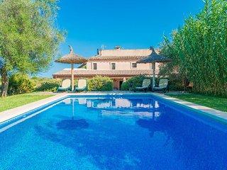 Spacious villa in Búger with Parking, Internet, Washing machine, Air conditionin