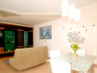 Cozy apartment in the center of Melendugno with Parking, Internet, Air condition