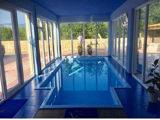 Spacious villa in the center of Klimno with Parking, Internet, Washing machine,