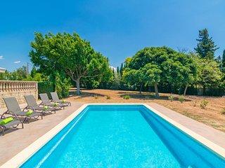 Spacious villa in Palma with Parking, Internet, Washing machine, Pool