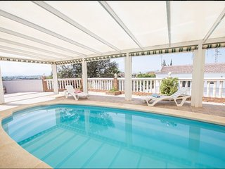 Spacious villa in Cartama with Parking, Washing machine, Air conditioning, Pool
