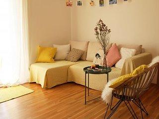 Spacious apartment in Kupari with Parking, Internet, Washing machine, Air condit
