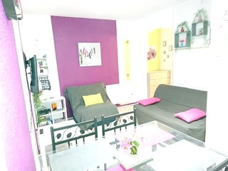 Cozy apartment in the center of Cauterets with Parking, Internet, Washing machin