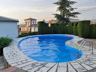 Spacious villa in Monachil with Parking, Internet, Washing machine, Air conditio