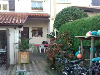 Cozy house in the center of Messanges with Parking, Internet, Washing machine, G