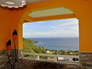 Spacious apartment in Les Anses-d'Arlet with Washing machine, Terrace