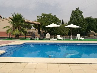 Spacious villa in Moratalla with Parking, Internet, Washing machine, Air conditi