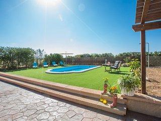 Cozy villa in Algaida with Parking, Internet, Washing machine, Air conditioning
