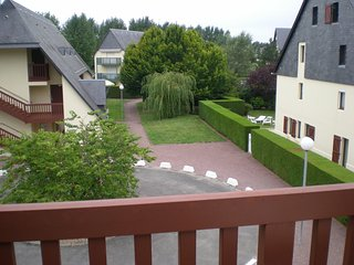 Cozy apartment in Tourgéville with Parking, Internet, Balcony
