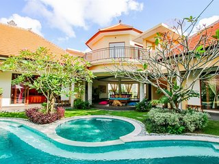 Spacious house in North Kuta with Parking, Internet, Air conditioning, Pool