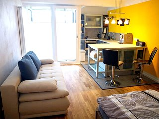 Cozy apartment in the center of Bernau am Chiemsee with Parking, Internet, Washi