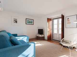 Spacious apartment in the center of Lisbon with Internet, Washing machine, Air c