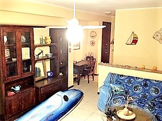 Spacious apartment close to the center of Aci Castello with Parking, Internet, W