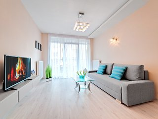 Cozy apartment in the center of Poznań with Lift, Parking, Internet, Washing mac